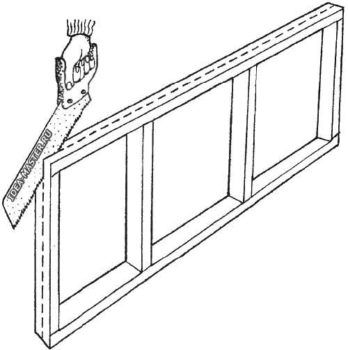 Установка деревянной рамы на балконе своими руками 28