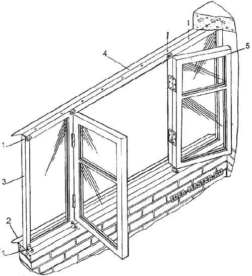 Рамы для балкона деревянные своими руками 17