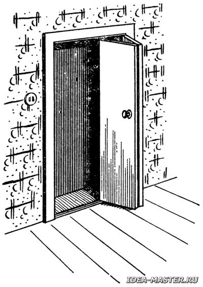 Как сделать двустворчатые складывающиеся двери своими руками