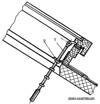 Открыватель-фиксатор рамы окна
