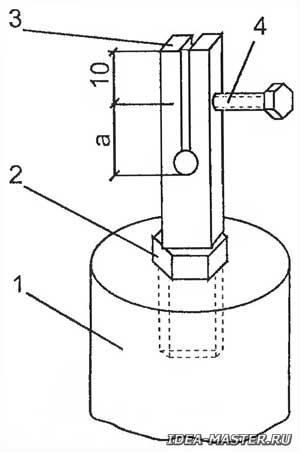 Крепление пилки электролобзика