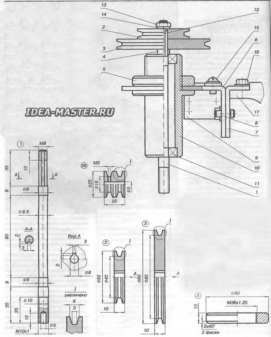 Самодельный сверлильный станок своими руками чертежи 92