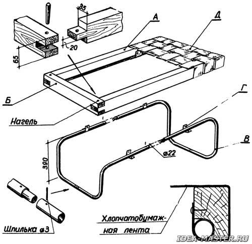 Скамейка своими руками — как сделать скамейку из металла