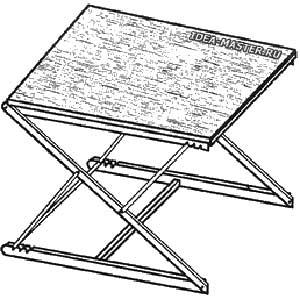 Как сделать столик-трансформер. Изготовление самодельного столика-трансформера своими руками