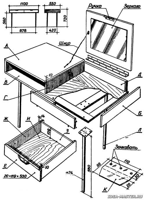 Чертежи шкафов » О мебели портал о мебели и интерьере