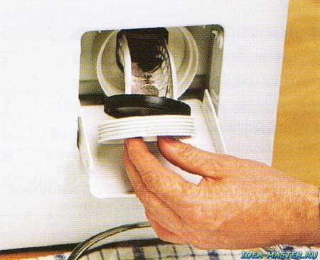 Устранение засора в стиральной машине