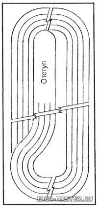 Схема для плетения плетки 163
