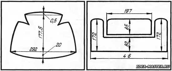 Сшить шапку ушанку из искусственного меха своими руками выкройки 44